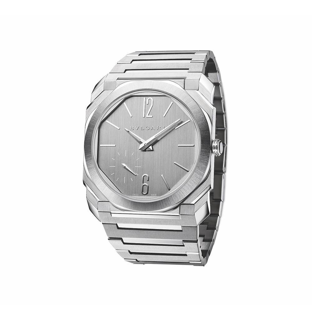 Octo Finissimo Silvered dial 40 mm ref. 103464