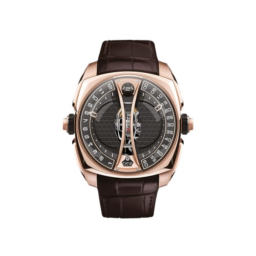 Klepcys Vertical Tourbillon Rose Gold