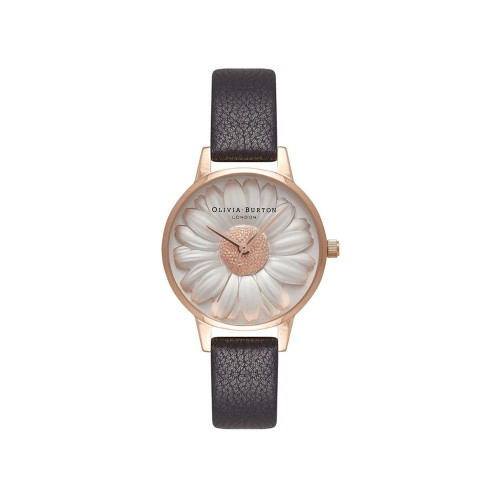 Orologio daisy black & rose gold