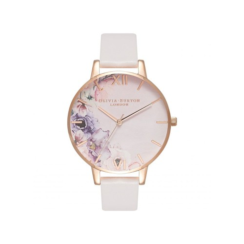 Orologio watercolour florals